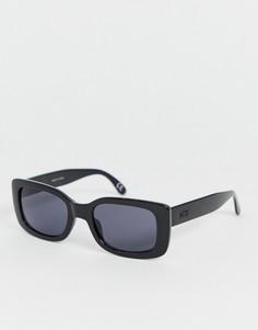 Черные квадратные солнцезащитные очки Vans Keech - Черный