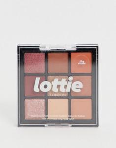 Палитра теней для век Lottie London - The Rusts - Мульти