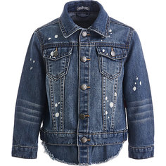 Куртка джинсовая Gulliver для мальчика
