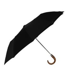 Зонт полуавтомат JEAN PAUL GAULTIER 39FW18 черный