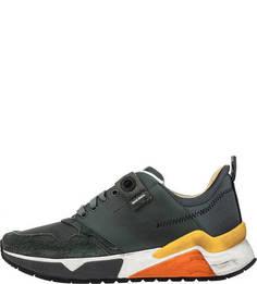 Летние кроссовки цвета хаки Diesel