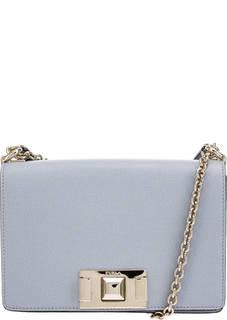 Маленькая кожаная сумка с откидным клапаном Mimi Furla