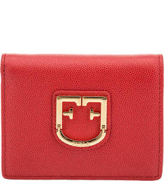 Кожаный кошелек с металлическим декором Belvedere Furla