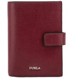 Кожаный кошелек со съемной визитницей Babylon Furla