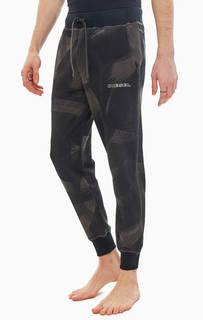 Домашние брюки из хлопка с манжетами Diesel