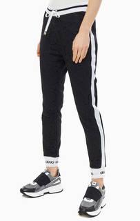 Черные брюки джоггеры с карманами Liu Jo Sport