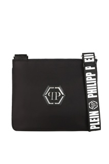 Черная сумка с нашивкой Philipp Plein