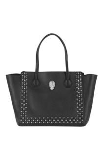 Черная сумка-тоут с шипами Philipp Plein