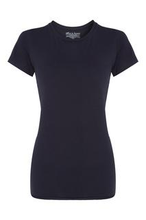 Темно-синяя футболка из хлопка Bread&Boxers