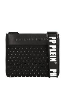 Комбинированная сумка с заклепками Philipp Plein