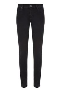 Облегающие черные джинсы средней посадки Sandro