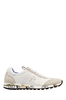 Комбинированные серые кроссовки Premiata