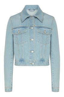 Голубая джинсовая куртка Gucci