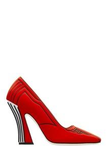 Красные туфли с принтом FFreedom Fendi