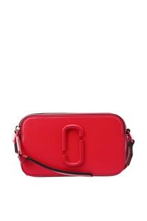 Компактная красная сумка Snapshot Marc Jacobs