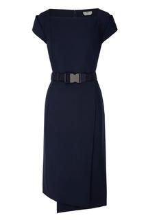 Асимметричное платье-футляр Fendi