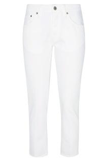 Белые джинсы-сигареты Golden Goose Deluxe Brand
