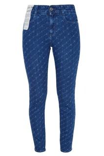 Синие джинсы с монограммами Stella Mc Cartney