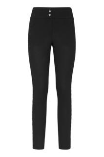 Черные брюки со стразами Philipp Plein