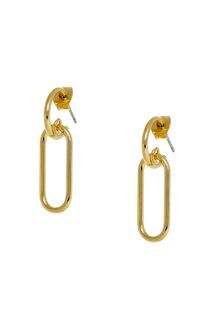 Золотистые серьги Lisa Smith