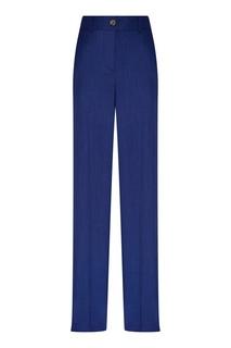 Синие брюки со стрелками Adolfo Dominguez