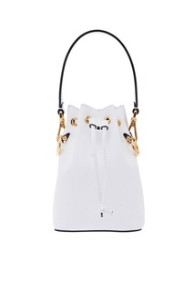 Белая мини-сумка Mon Tresor Fendi