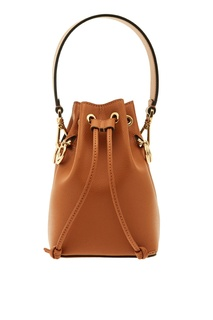 Светло-коричневая мини-сумка Mon Tresor Fendi