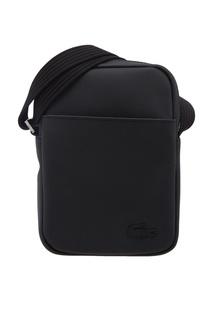 Черная текстильная сумка Lacoste