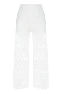 Широкие кружевные брюки Maje