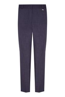 Укороченные серые брюки Adolfo Dominguez