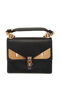 Компактная кожаная сумка Bag Bugs Fendi