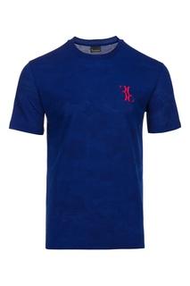 Футболка сапфирового синего оттенка Billionaire