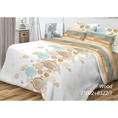 Комплект постельного белья Волшебная ночь 1,5 сп, ранфорс, Wood с наволочками 70x70 (701951)