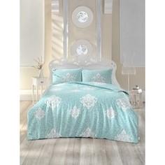 Комплект постельного белья Altinbasak 1,5 сп, ранфорс, Snazzy светло-зеленый (298/12/CHAR003)