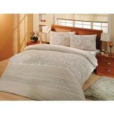 Комплект постельного белья Altinbasak 1,5 сп, ранфорс, Natura кремовый (298/2/CHAR001)