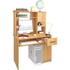 Стол компьютерный Атлант Интел 15 вишня оксфорд Atlant