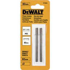 Ножи для рубанка DeWALT 82мм 2шт HSS (DT 3905)