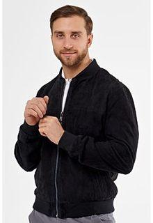 Замшевая куртка с отделкой трикотажем Jorg Weber