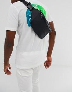 Черная сумка-кошелек на пояс с логотипом BOSS Hyper - Черный