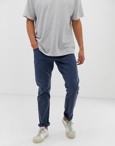 Темно-синие облегающие брюки с 5 карманами Esprit - Темно-синий