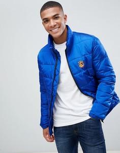 Дутая куртка Love Moschino - Синий