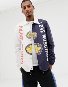 Спортивная куртка Love Moschino - Белый