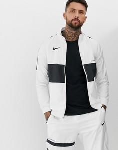 Белая спортивная куртка Nike FC - Белый