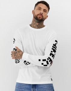 Белая футболка с длинными рукавами Nike FC Dry - Белый
