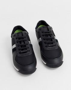 Черные кроссовки BOSS Maze - Черный