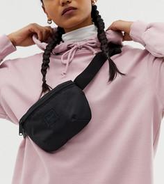 Черная легкая сумка-кошелек на пояс Herschel Supply co. Fourteen - Черный