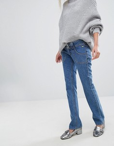 Прямые джинсы с заниженной талией J Brand x Bella Freud - Черный
