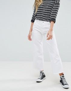 Укороченные расклешенные джинсы Pepe Jeans - Синий