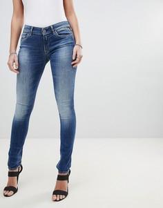 Зауженные джинсы Replay Luz - Синий