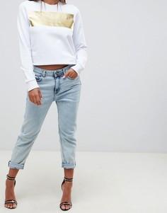 Джинсы в винтажном стиле Versace Jeans - Синий
